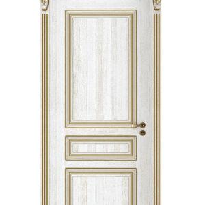 guldvit dörr