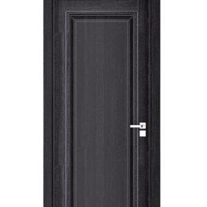 mörkgrå dörr